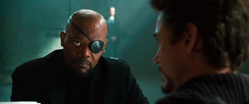 Un segundo encuentro entre Nick Fury y Tony Stark