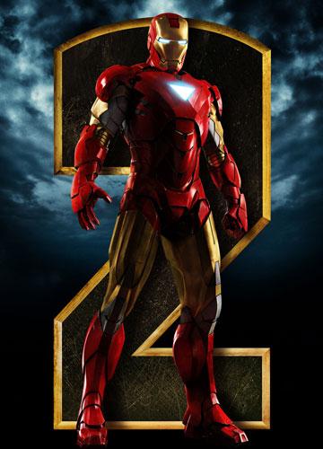 Nuevo cartel de promoción de Iron Man 2... Iron Man