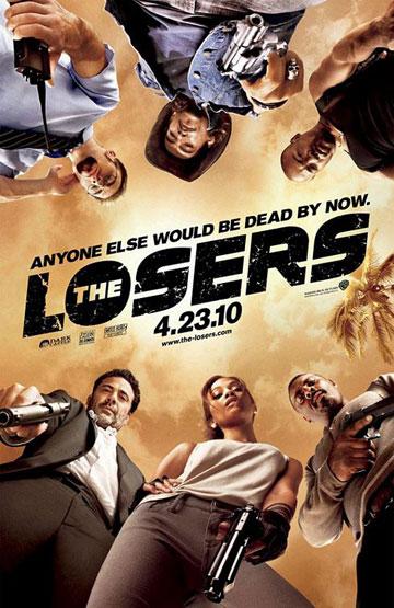 Póster final de The Losers de Sylvain White