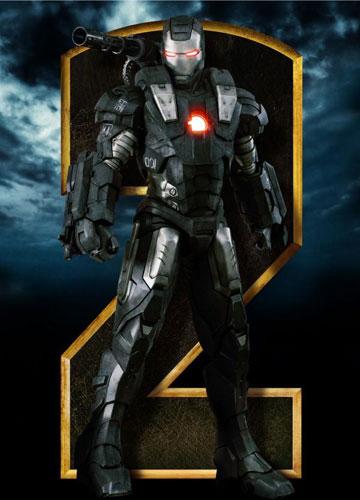 Nuevo cartel de promoción de Iron Man 2... War Machine