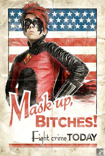 Otro cartel más de Kick-Ass vía SXSW