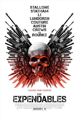Nuevo cartel molón de The Expendables