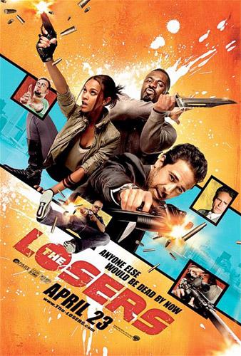 Nuevo póster de The Losers