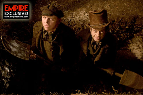 Primera imagen oficial de Burke and Hare