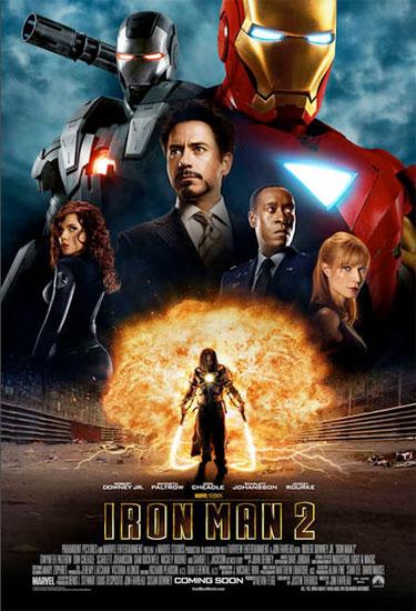 Póster internacional de Iron Man 2