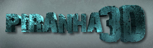 Logo de Piranha 3D de Alexandre Aja