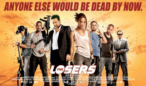Nuevo cartel de The Losers... y van unos cuantos