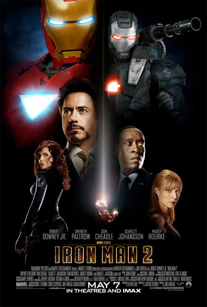 Póster USA final para Iron Man 2