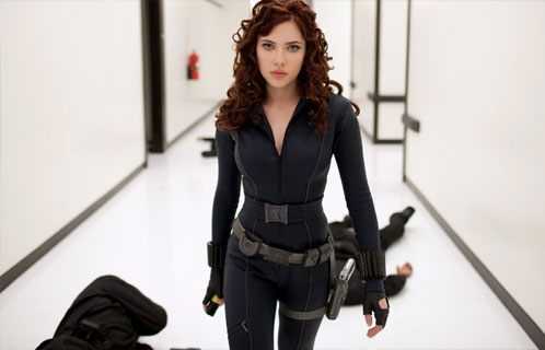 Nueva imagen de Iron Man 2. Black Widow