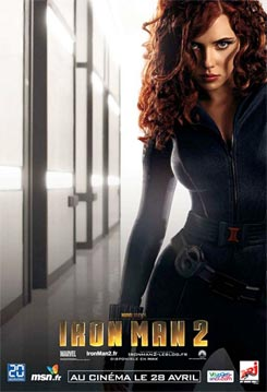 Nuevos carteles de Iron Man 2. Black Widow