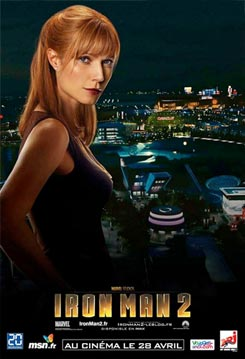 Nuevos carteles de Iron Man 2. Pepper Potts