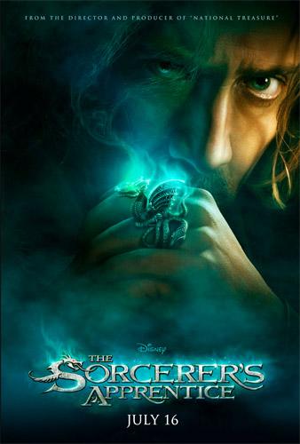 Primer cartel de El aprendiz de burjo (The Sorcerer's Apprentice)