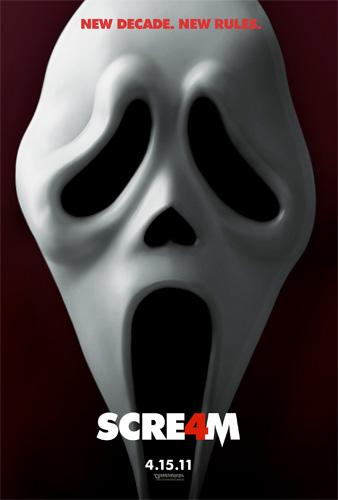 Primer cartel de Scre4m