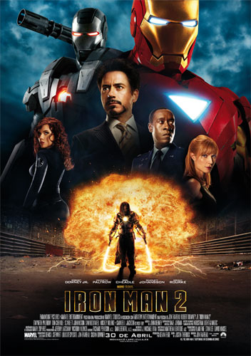 Póster español de Iron Man 2