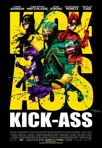 Póster español de Kick-Ass