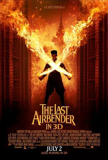 Nuevo cartel de Airbender: el último guerrero
