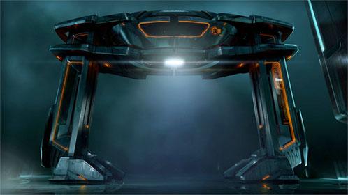 Diseño de TRON Legacy