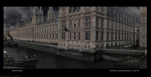 Concept Art de Sherlock Holmes