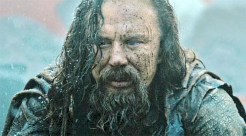Mickey Rourke como el Rey Hyperion en Immortals