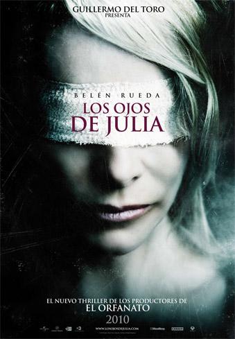 Primer cartel de Los ojos de Julia