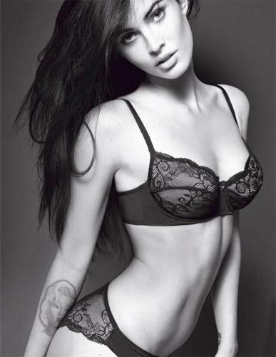 Megan Fox, una no más Santo Tomás
