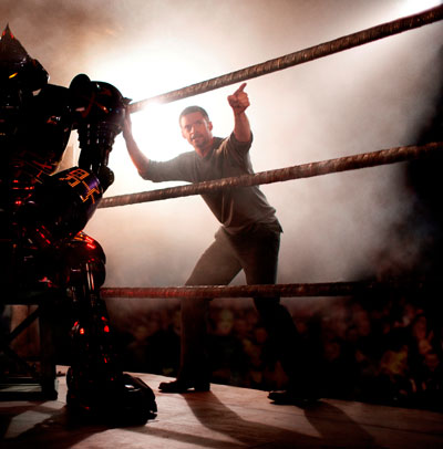 Primera imagen de Hugh Jackman en Real Steel