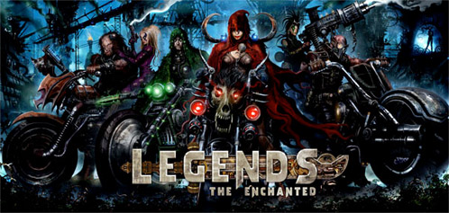 Legends: Caperucita Roja, Ricitos de Oro, Jack el matagigantes, Hanse y Gretel
