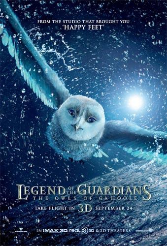 Primer póster de Ga'Hoole: la leyenda de los guardianes