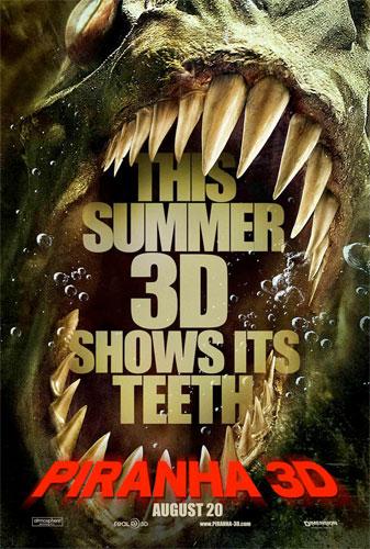 Nuevo póster de Piranha 3D