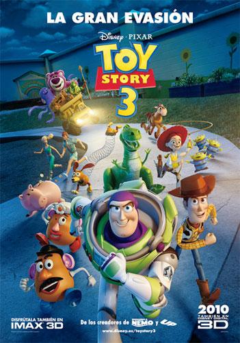 Uno de los pósters de Toy Story 3