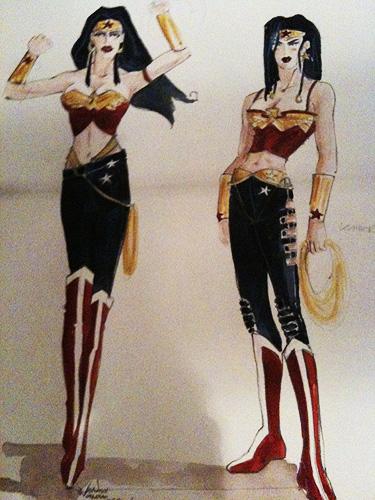 Concept Art de la Wonder Woman que iba a dirigir Joss Whedon