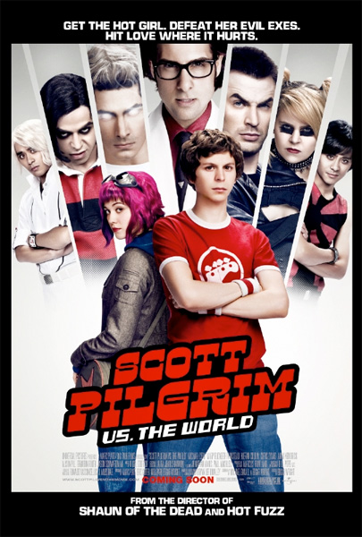 Nuevo cartel de Scott Pilgrim vs. The World