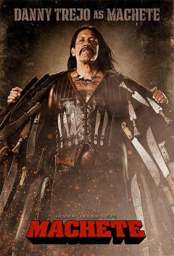 Nuevo póster de Machete con Danny Trejo