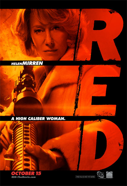 Segundo póster de Red con Helen Mirren
