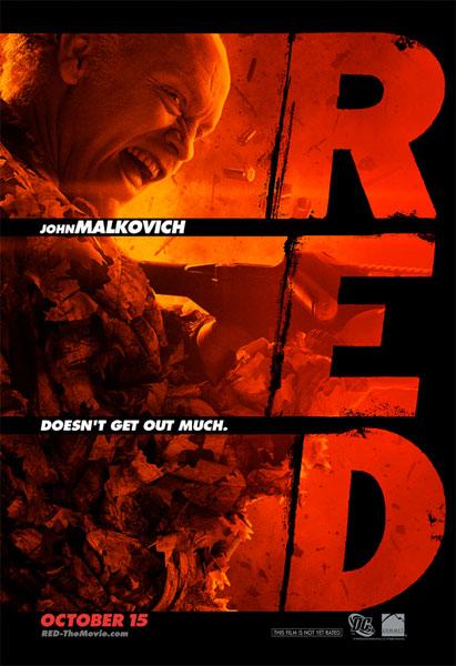Nuevo cartel de RED con John Malkovich