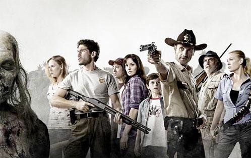 """Foto de todo el reparto de """"The Walking Dead"""""""