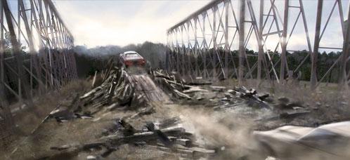 Concept Art de Drive Angry 3D