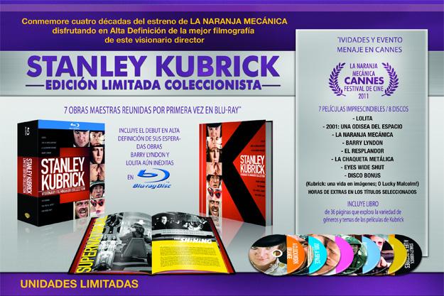 Stanley Kubrick: Edición Limitada Coleccionista