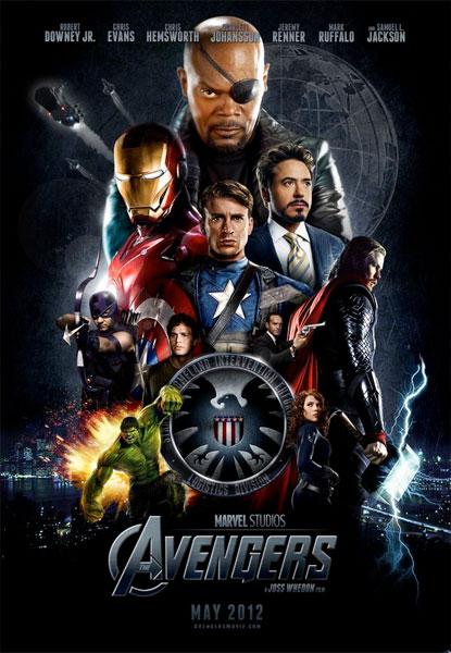 Fake póster de The Avengers... mola