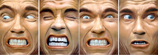 Las caras de Douglas Quaid