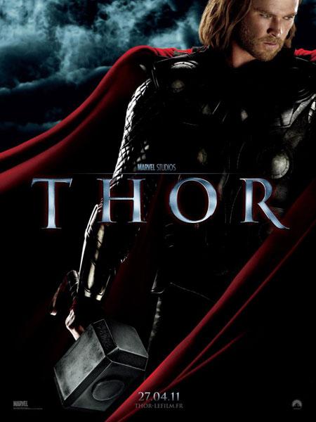 Póster francés de Thor