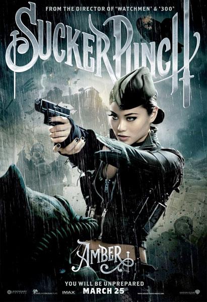 Nuevo cartel de Sucker Punch... Amber