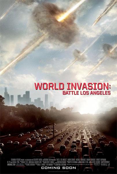 Un nuevo cartel de Invasión a la Tierra (Battle: Los Angeles)