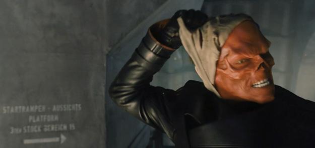 Hugo Weaving como Red Skull, así lo veremos en la gran pantalla...