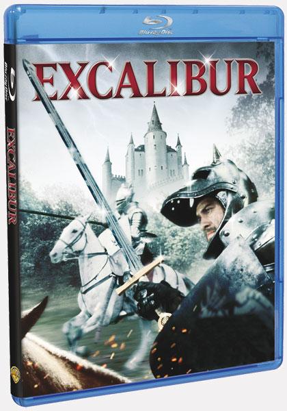 Portada de la edición en Blu-Ray de Excalibur