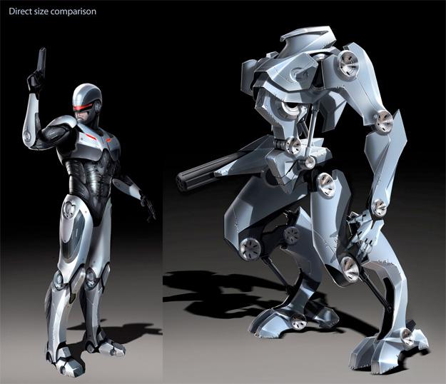 ¿Concept Art del RoboCop que planeaba relanzar MGM en manos de Darren Aronofsky?