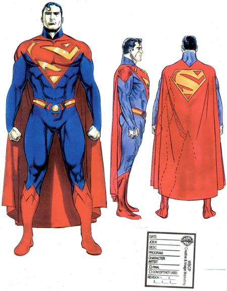 Concept Art del Superman que pudo dirigir McG
