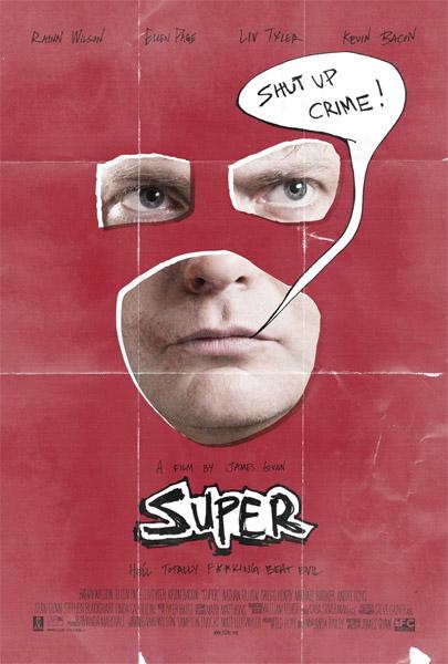 Nuevo cartel de Super de James Gunn