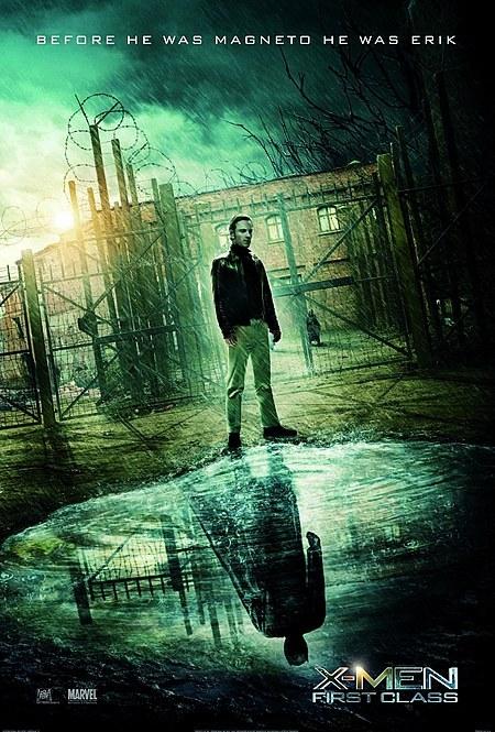 Nuevo póster de X-Men: primera generación... Erik Magnus Lehnsherr