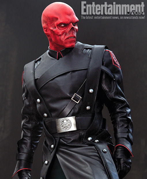 Nuevo fabuloso vistazo a Red Skull en Captain America: The First Avenger